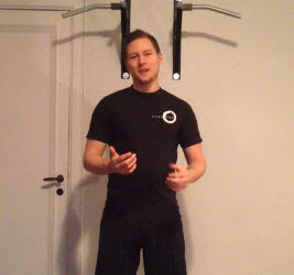 Övningar med Morgan Axelson – 1: Fotens stabilitet